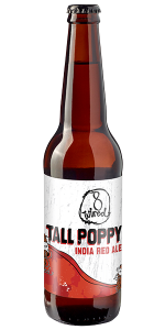8 Wired Tall Poppy India Red Ale 500ml