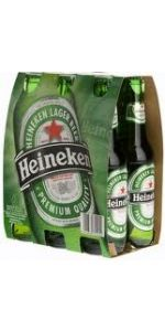 Heineken Bottles 330ml 6 Pack