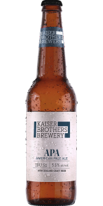 Kaiser Brothers A P A Beer 500ml
