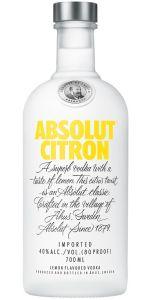 Absolut  Vodka Citron 700ml