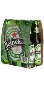 Heineken Bottles 330ml 6 Pack