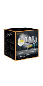 Nachtmann Gin & Tonic Glasses Set Of 4