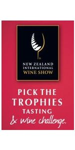 NZ International Wine Show Pick the Trophies Ticket